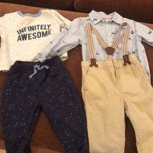 2 outfits for boys